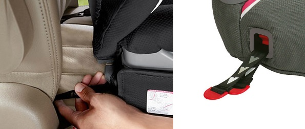Graco Affix Car Seat ISOCATCH Straps